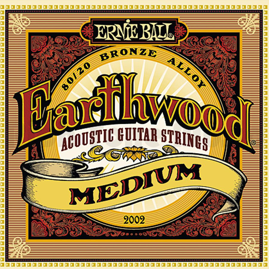 MUTA ERNIEBALL EARTHWOOD MEDIUM CORDE PER CHITARRA ACUSTICA